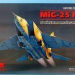 MiG-25 RBT Soviet Reconnaissance Plane - ICM 48901 - Review