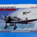 "IJN Type 96 carrier-based fighter II A5M2b ""Claude"" – Wingsy Kits D5-01 – Review (English)"