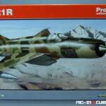 MiG-21R Cuban reconnaissance – Eduard 1/48 – WIP 1